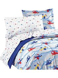 chf industries inc planes clouds twin bedding set 5 piece helicopter bed kids bedding
