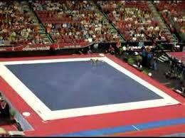 Image Artistic Gymnastics Gymnasticsfloorexercise Youtube Floor Exercise Skills Gymnastics Wiki Fandom Powered By Wikia