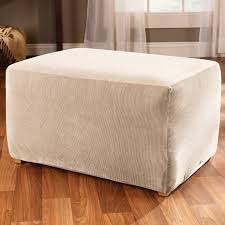ottoman slipcovers armchair and ottoman slipcovers sure fit slipcover