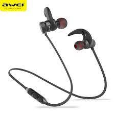 AWEI A920BLS Bluetooth Kulaklık Kablosuz Kulaklık Spor Bluetooth Kulaklık  Auriculares Akülü Kulaklıklar Casque 10 H Müzik Kulaklık And Kulaklık -  Lifefashion.news