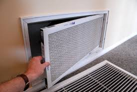 central air conditioner maintenance change furnace filter