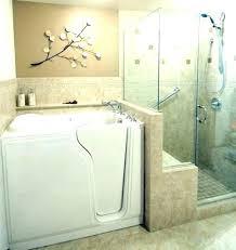 walk in bathtub shower combo walk in bathtub shower walk in tub shower in this master walk in bathtub shower