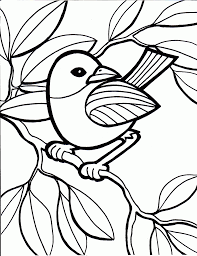 Small Picture Perfect Bird Pictures To Color For KIDS Book I 4739 Unknown