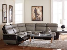 Zen Living Room Furniture Nicolo Leather Sectional Living Room Furniture Sets Pieces Power