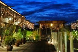 terrace lighting. Terrace Lighting Ideas: Large Lit By Fairy Lights