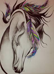 Horse Tattoo Asie Tetov