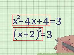 image titled find the vertex of a quadratic equation step 9