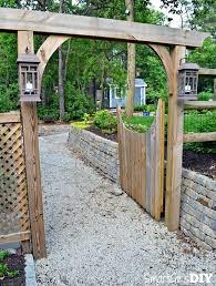 wood fence gates plans garden fence gate incredible decorative panels wooden fences and gates regarding 7