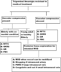 Branches Of Trigeminal Nerve Flow Chart Trigeminal Neuralgia Yadav Yr Nishtha Y Sonjjay P Vijay P