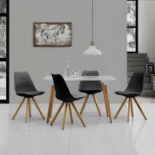 Skandinavische Stühle Dddy Skandinavischer Esstisch Holz Oval