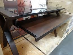 amazing costco office desk bayside furnishings lana computer desk