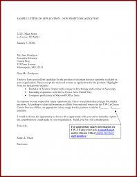 Cover Resume Lettere Freshes Nonprofit Of Non Profit Executive