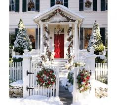 front door decorationChristmas Porch and Front Door Decorating Ideas  Adorable Home