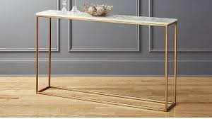 Iris White Agate Console Table Reviews CB2