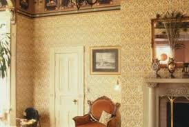 Wallpaper designed by William Morris appeared in many London rooms during  the 1800s.