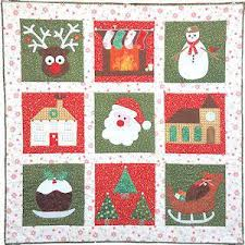 Cosy Christmas Quilt Pattern by Secret Garden Quilting &  Adamdwight.com