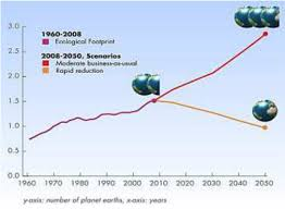 global ecological footprint and projected scenarios
