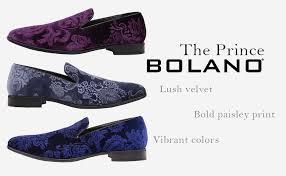 Bolano Prince Dress Shoes for Men Velvet Formal ... - Amazon.com
