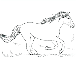 Horse Coloring Pages To Print For Free Horses Printable Coloring