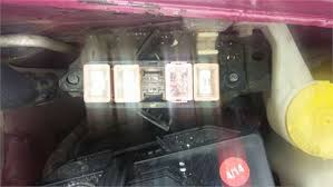 solved what goes in the empty slot on this fuse box it is fixya what goes in the empty slot on this fuse box it is different from the other 4 its for a 94 ford aspire