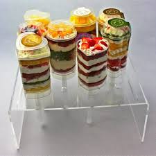 Push Pop Display Stand 100 Hole Clear bright Crystal Obvious Cupcake Cake Push Pop Display 27