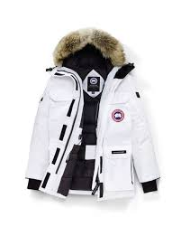 Canada Goose   White Expedition Parka Fusion Fit   Lyst