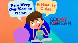 korean name how to guide to making