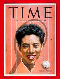 Image result for the French Open, Althea Gibson
