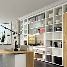 cool home office simple.  Cool Pleasant Room With Large And High Book Shelve Also Wood Desk In Cool Home Office Simple