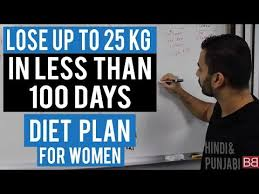 Diet Chart In Punjabi Language Lose Up To 25kg With This Fat Loss Diet Plan Hindi Punjabi