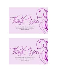 Wedding Thank You Notes Templates 30 Free Printable Thank You Card Templates Wedding