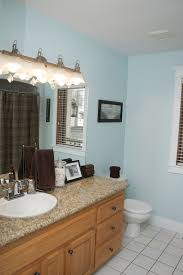 Benjamin Moore Green Bathroom Benjamin Moore Ocean Air I Had To Find A Color To Work With My