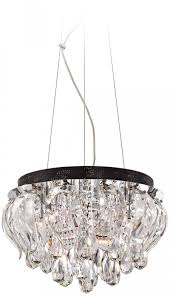 fascinating crystal drum euro style lighting with pendants