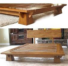 japanese furniture plans. The Space Efficient Wakayama Platform Bed Frame Features Interlocking Japanese Joinery Assembly And Mattress To Furniture Plans S
