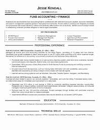 Cpa Resume Sample Inspirational Accounting Resume Samples Canada