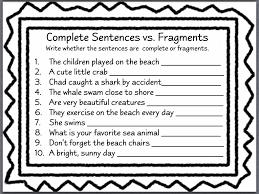 Sentence Fragments Lessons Tes Teach