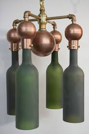 sconce lamps made of recycled wine bottles available for 250 20 cost