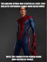 The Amazing Spiderman Lacked Realism - Kill the Hydra via Relatably.com