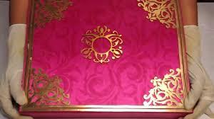 royal indian wedding card