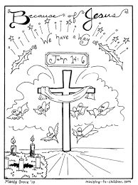 Free printable nativity coloring pages for kids. Jesus Coloring Pages Coloring Home