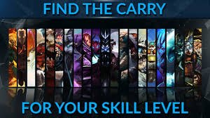 find the right carry for your skill level dota 2 pro guide youtube