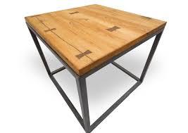 reclaimed oak furniture. Reclaimed Oak Side Table With Walnut Bowties By RSTco. Furniture