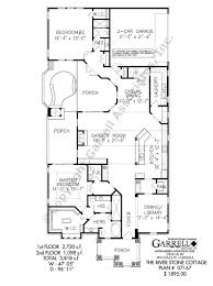 river stone cottage house plan house plans by garrell associates Small Craftsman House Plans With Photos river stone cottage house plan 07167,1st floor plan small craftsman style house plans with photos