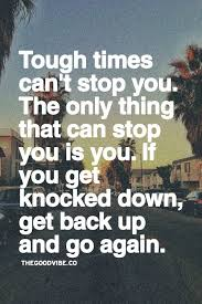Get Back Up Quotes Beauteous When You Get Knocked Down Quotes On QuotesTopics