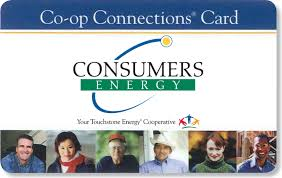 consumers energy members have access to a free membership card co op connections