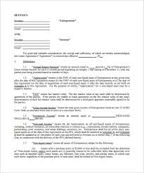 Investment Agreement Sample Simple Investment Agreement Template