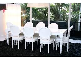 white lacquered furniture. White Lacquer Dining Table Modern Baroque Xiv Black Chairs Love The Lacquered Furniture