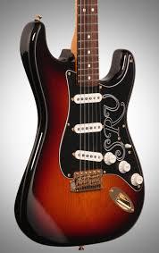 fender stevie ray vaughan stratocaster electric guitar zzounds fender stevie ray vaughan stratocaster pao ferro case 3 color sunburst