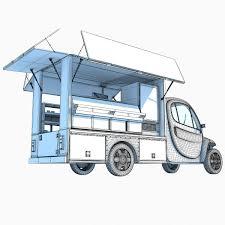 3d Food Truck Design 3d Food Trucks Models 3d Horse