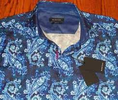 Bugatchi Size Chart Details About Bugatchi Uomo Authentic Mens New Classic Fit Dress Shirt Top Size L Large Nwt